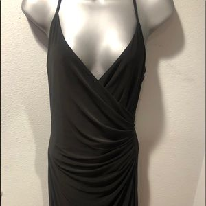 Shelli Segal's Laundry Black halter dress